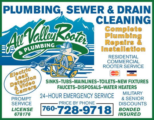 All Valley Rooter & Plumbing