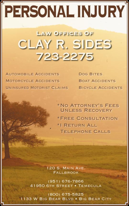 Sides, Clay R Attorney